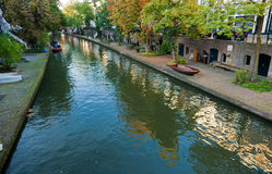 Autumn Oudegracht Royalty Free Stock Images