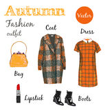 Autumn outfit Royalty Free Stock Images