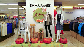 Autumn outfits for ladies stock image