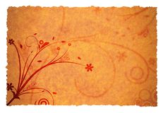 Autumn page Royalty Free Stock Photo