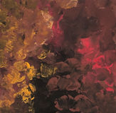 Autumn Painting abstracto Ilustración del vector Fotos de archivo libres de regalías