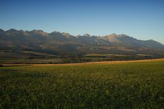 Autumn Panorama Royaltyfria Bilder