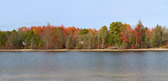 Autumn Panorama Royalty Free Stock Photo