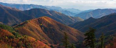Autumn Panorama Fotos de archivo libres de regalías