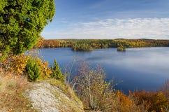 Autumn panorama landscape Royalty Free Stock Image