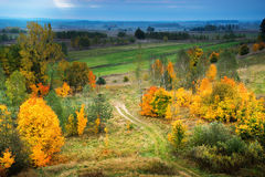 Autumn panorama Royalty Free Stock Photography
