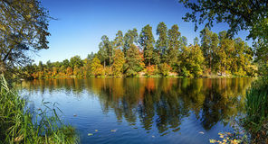Autumn panorama Royalty Free Stock Photo