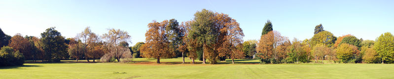 Autumn Panoramic Stock Photo