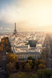 Autumn in Paris Stock Image
