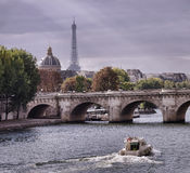 Autumn in Paris Stock Photo