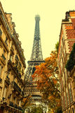 Autumn in Paris Stock Photography