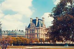 Autumn Paris, Eiffel tower Stock Photos