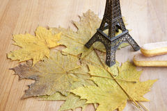 Autumn in Paris Stock Photography