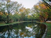 Free Autumn Park In Shanghai Royalty Free Stock Photos - 174383608