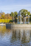 Autumn in the park Kadriorg Stock Images