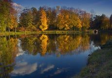 Autumn Park, Russia Royalty Free Stock Photos