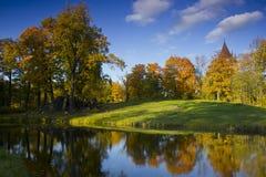 Autumn Park, Russia Stock Image