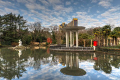 Autumn park in Sochi Royalty Free Stock Image