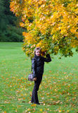 In the autumn Park Stock Photography