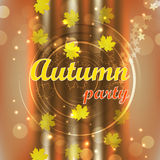 Autumn party Royalty Free Stock Photography