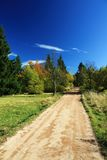 Autumn path Royalty Free Stock Photo