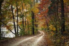 Autumn Pathway fotos de archivo libres de regalías