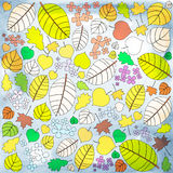 Autumn patter Stock Image