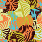 Autumn pattern Royalty Free Stock Photo