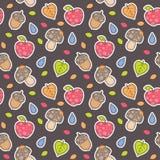 Autumn pattern Stock Photography