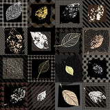 Autumn pattern Royalty Free Stock Photos