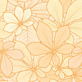Autumn pattern Stock Image