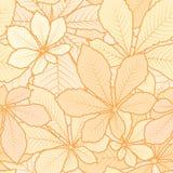 Autumn pattern Stock Image