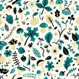 Autumn Pattern Imagens de Stock