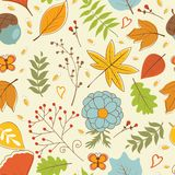 Autumn Pattern Foto de archivo libre de regalías