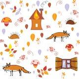 Autumn Pattern Lizenzfreies Stockbild