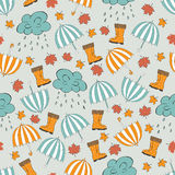 Autumn Pattern Fotografia de Stock Royalty Free