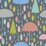 Autumn Pattern Royalty-vrije Stock Afbeeldingen