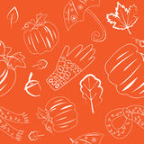 Autumn Pattern Images stock