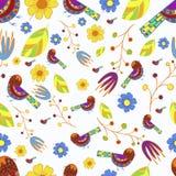 Autumn Pattern Stock Afbeeldingen