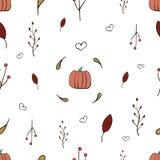 Autumn Pattern illustration de vecteur