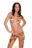 Autumn Pattern Bikini Stock Images