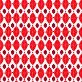 Autumn pattern. With red leaves in warm colors stock illustration