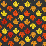 Autumn pattern. Seamless color vector Royalty Free Stock Photography