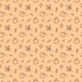 Autumn pattern Royalty Free Stock Image