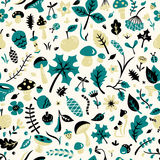 Autumn pattern Stock Images
