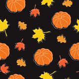Autumn pattern2 vector illustration