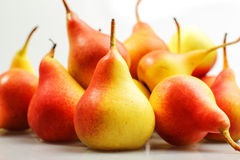 Autumn pears Stock Photos
