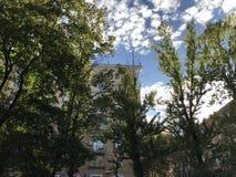 Autumn on Peschanaya royalty free stock image