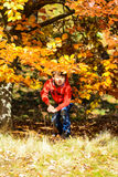 Autumn photographer Royalty Free Stock Image