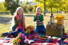 Autumn picnic Royalty Free Stock Image